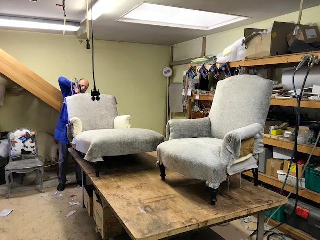 tapissier atelier